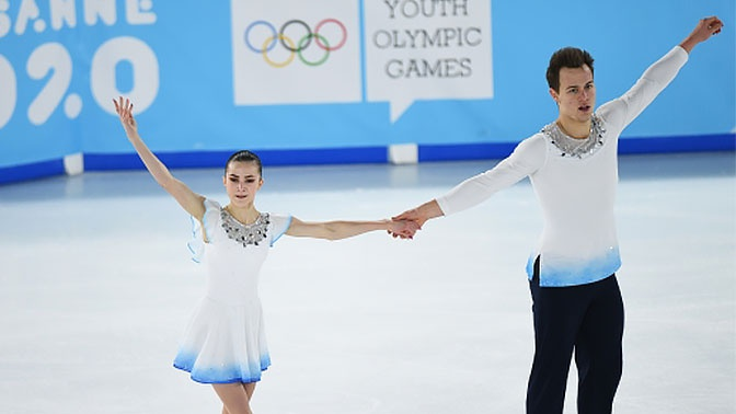 Российские фигуристы завоевали золото юношеских Олимпийских игр