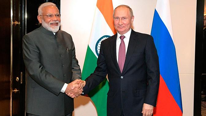 Путин обсудил с премьером Индии ситуацию в регионе Персидского залива