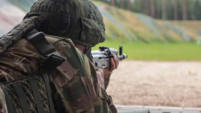 Морпехи приступили к учебно-боевым стрельбам в Крыму