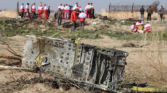 Украина обратилась к Ирану с просьбой передать Киеву бортовые самописцы сбитого Boeing