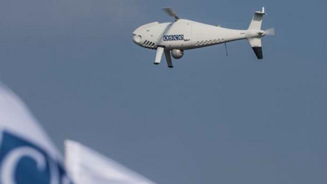 Киев обвинили в глушении беспилотников ОБСЕ