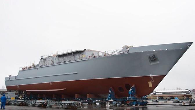 Экипаж новейшего противоминного корабля «Яков Баляев» направлен на обучение в Петербург