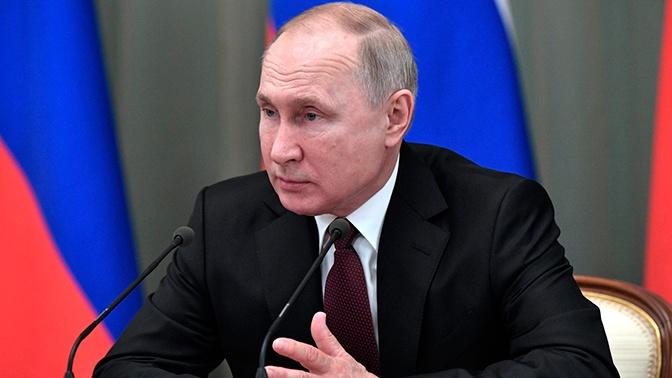 Путин прокомментировал попытки Запада переписать историю