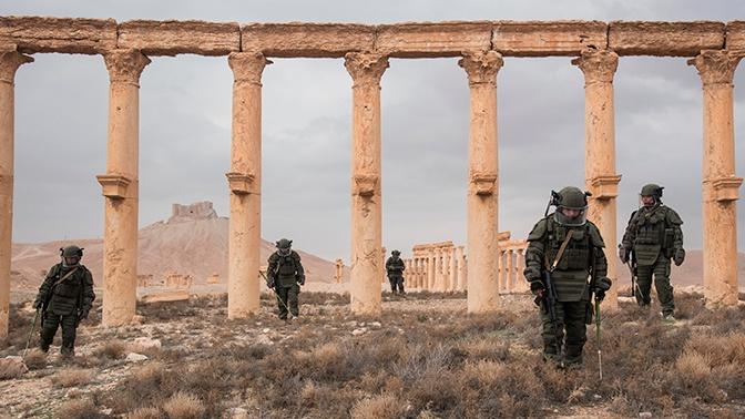 Шойгу отметил работу военных инженеров при разминировании Сирии и Лаоса
