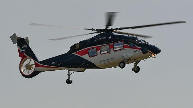 Начались сертификационные испытания вертолета Ка-62