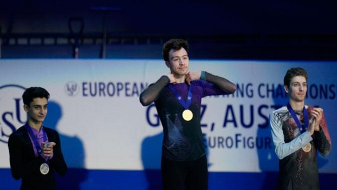 Российский фигурист Дмитрий Алиев выиграл чемпионат Европы