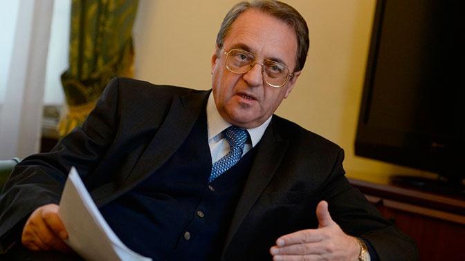 В МИД РФ обсудили с послом Палестины «сделку века»