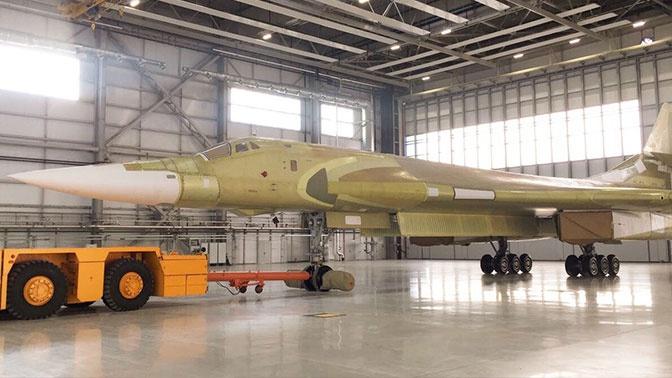 ВКС РФ получат 10 бомбардировщиков Ту-160М2 к 2027 году