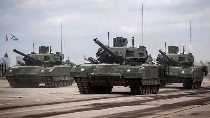 Мантуров: госиспытания перспективного российского танка «Армата» планируется завершить в 2020 году