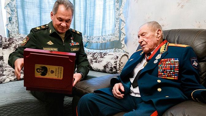 Шойгу вручил Язову орден «За заслуги перед Отечеством»