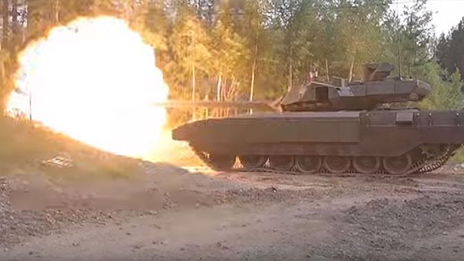 Превосходит все аналоги: разработчик рассказал об огневой мощи танка «Армата»