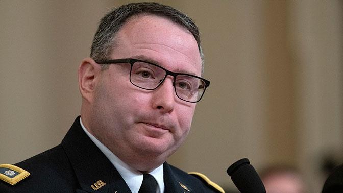 Давшего показания против Трампа сотрудника Белого дома отправили в отставку