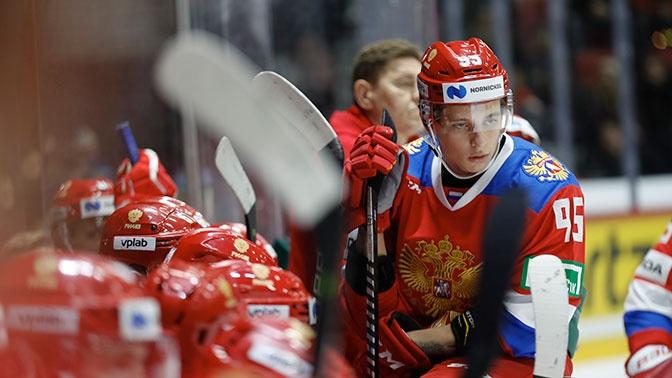 Сборная России уступила Швеции в матче Евротура