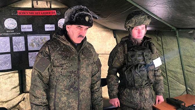 Евкуров проинспектировал Северо-Кавказское суворовское военное училище