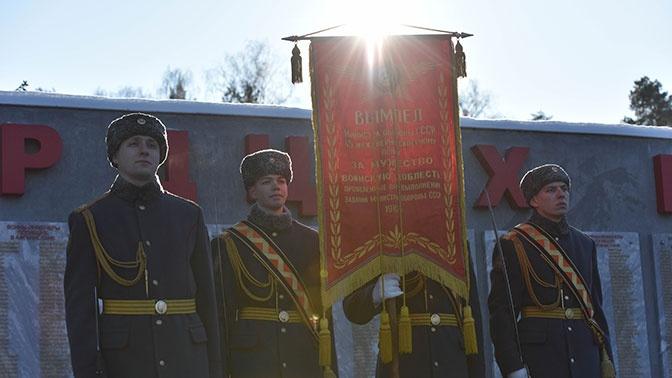 В Подмосковье отметили 40 лет легендарному инженерно-саперному полку