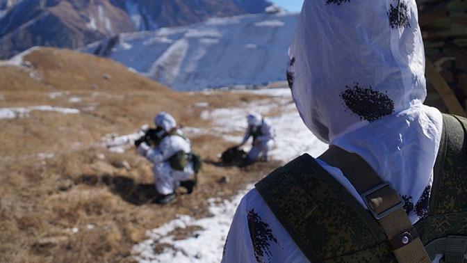 Полевые занятия для разведчиков стартовали на Северном Кавказе