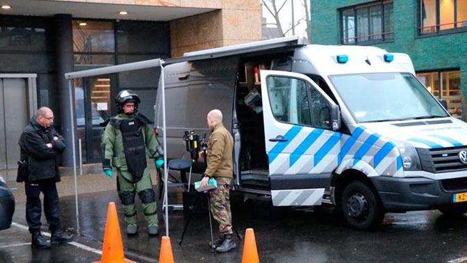 Взрыв прогремел в офисе почтовой компании в Амстердаме