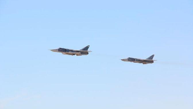 Экипажи Су-24М уничтожили «вражеские» объекты ПВО под Волгоградом