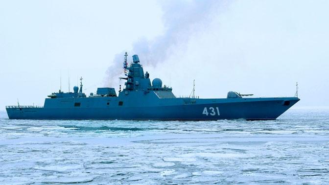 Фрегат «Адмирал Касатонов» испытает артиллерию в Баренцевом море