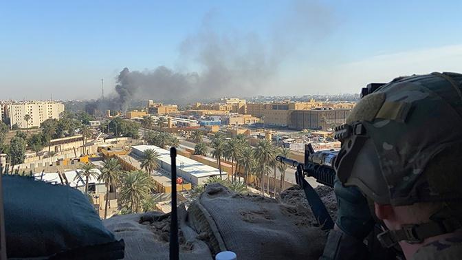 В коалиции прокомментировали ракетные удары по базе в Багдаде