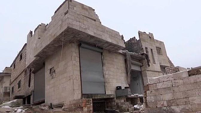 Фабрика смерти: в Идлибе обнаружен цех по производству снарядов