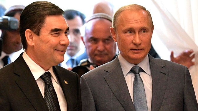 Путин обсудил с президентом Туркменистана двусторонние отношения