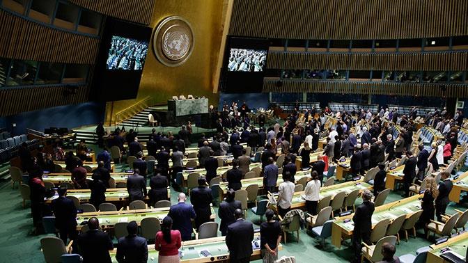 Россия созвала срочное заседание в ООН из-за невыдачи визы главе делегации РФ