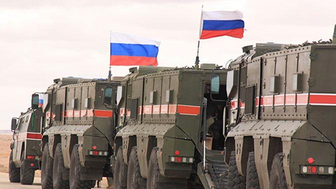 Россия провела наземное и воздушное патрулирование в Сирии