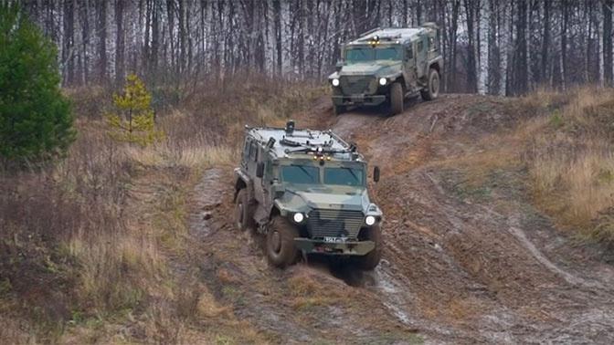 Новейший бронеавтомобиль «Атлет» испытали на подрыв и обстрел