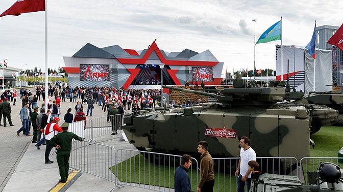 В Кремле состоялась презентация военно-технического форума «Армия-2020»