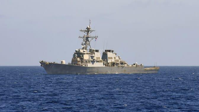 ЧФ приступил к отслеживанию действий эсминца ВМС США в Черном море