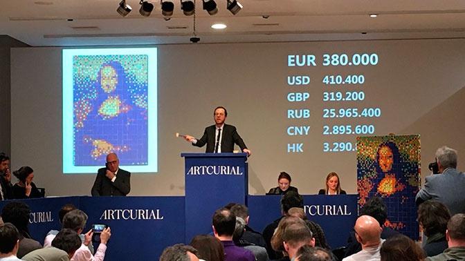 Необычную реплику «Моны Лизы» продали на аукционе за 480 тысяч евро