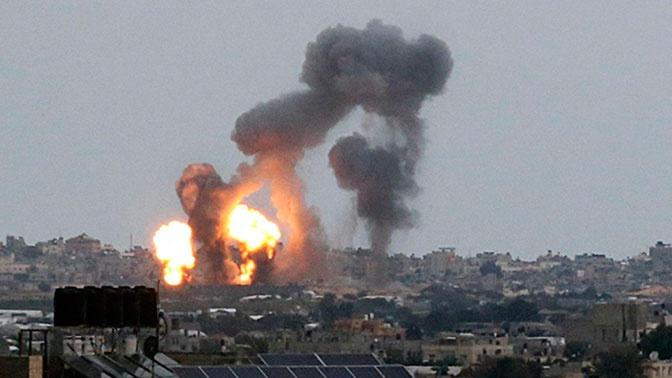 Израиль нанес удары по объектам «Исламского джихада»* в Газе