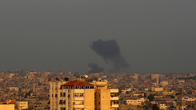 Израиль сообщил об ударе по целям в секторе Газа