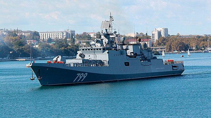 Фрегаты «Адмирал Макаров» и «Адмирал Григорович» направились в Средиземное море