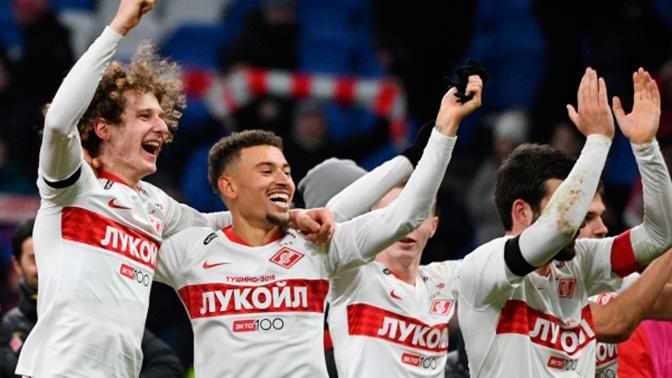 «Спартак» победил «Динамо» в московском дерби