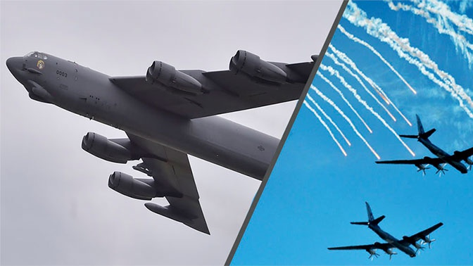 Военный эксперт сравнил Ту-95 с американским B-52