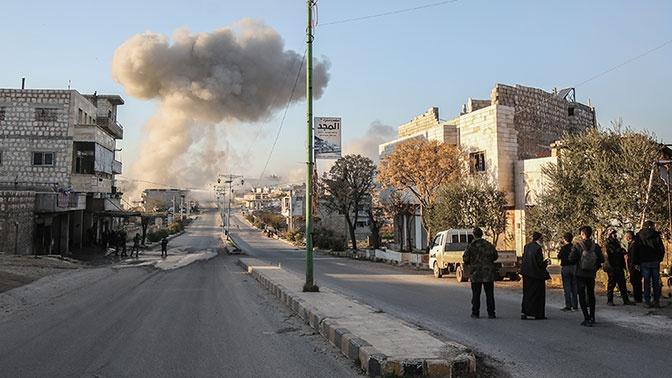 Сирийская армия объявила о закрытии воздушного пространства над Идлибом