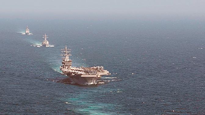 Атомный авианосец ВМС США вошел в Средиземное море