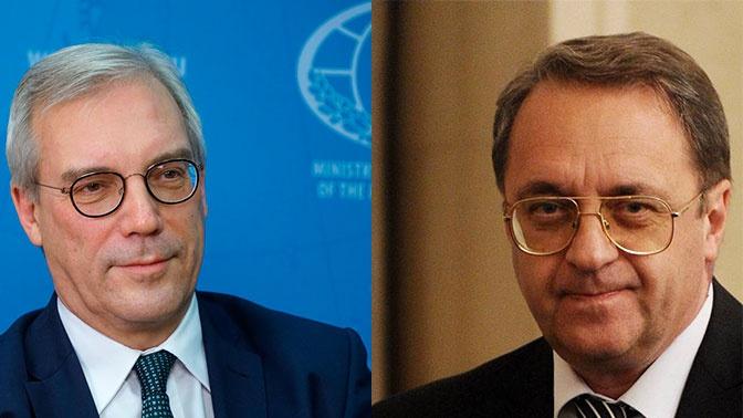 Путин продлил срок госслужбы на год замглавы МИД РФ Богданову и Грушко