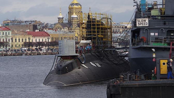 Испытания подлодки «Волхов» начались в Петербурге