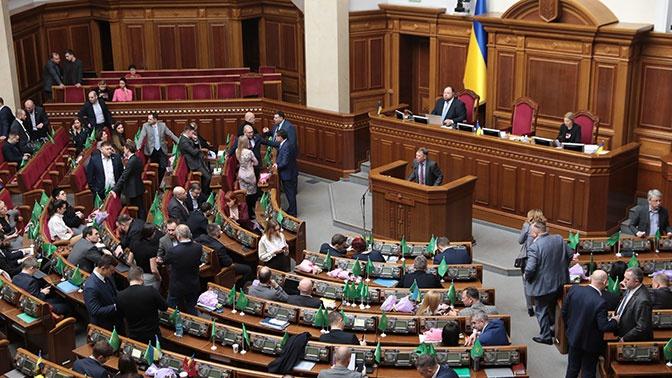 Украинская оппозиция потребовала уволить главу МИД за отказ праздновать 75-летие Победы