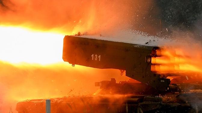МО РФ впервые покажет огнеметы «Тосочка» на параде Победы в Москве
