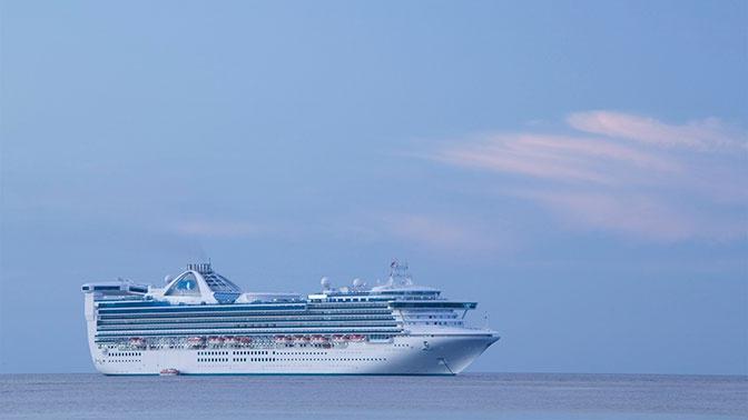 Круизный корабль встал на карантин из-за коронавируса у берегов Калифорнии