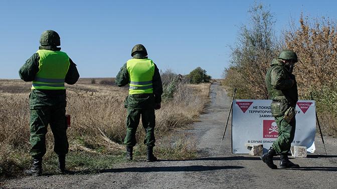 ДНР: украинские силовики вернулись на позиции разведения сил в Донбассе