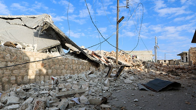 Количество обстрелов в Идлибе сократилось в пять раз после введения режима прекращения огня