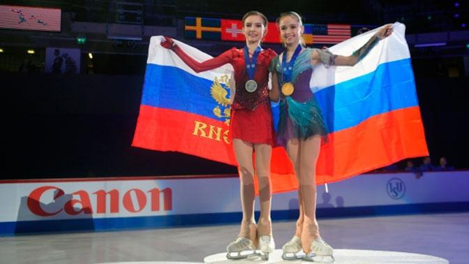 Российские фигуристы завоевали 8 из 12 медалей ЧМ среди юниоров