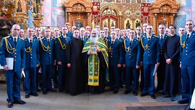 В Национальном центре управления обороной прошел концерт Православного хора инженерных войск ВС РФ