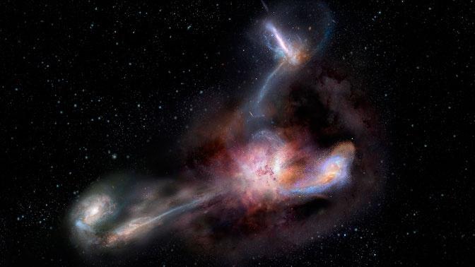 Ученые раскрыли тайну происхождения материи во Вселенной