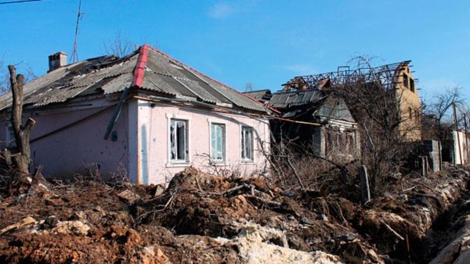 В ДНР сообщили об обстрелах Горловки из артиллерии
